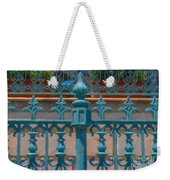 Wrought Iron Fence Weekender Tote Bag