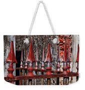 Wrought Iron Fence Spears Weekender Tote Bag
