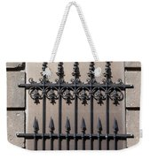 Wrought Iron Window Grille Weekender Tote Bag