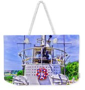 Ww II Submarine Memorial Weekender Tote Bag