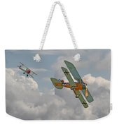 Ww1 - Fighting Colours Weekender Tote Bag by Pat Speirs