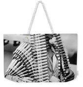 Wwii Fighters In Africa Weekender Tote Bag