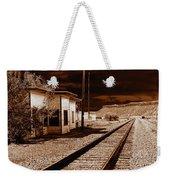 Rails West Weekender Tote Bag