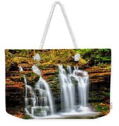 Wyandot Falls Ricketts Glen Weekender Tote Bag