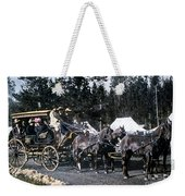 Wylie Coach Yellowstone National Park Weekender Tote Bag