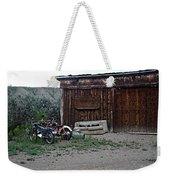 Wyoming Backroads Weekender Tote Bag