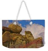 Wyoming Badlands Rock Detail Two Weekender Tote Bag