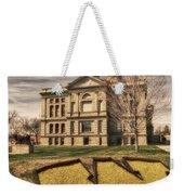 Wyoming Capitol Building Weekender Tote Bag