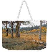 Wyoming Gold Weekender Tote Bag