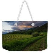 Wyoming Pastures Weekender Tote Bag