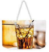 X Marks The Drink Weekender Tote Bag