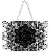 X-ray Of A Snowflake Weekender Tote Bag