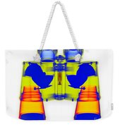 X-ray Of Binoculars Weekender Tote Bag