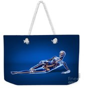 X-ray View Of A Woman Laying Weekender Tote Bag