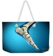 X-ray View Of Bones In Human Foot Weekender Tote Bag