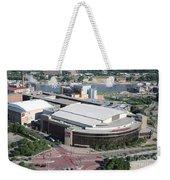 Xcel Energy Center In St. Paul Minnesota Weekender Tote Bag