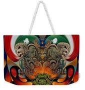 Xiuhcoatl The Fire Serpent Weekender Tote Bag