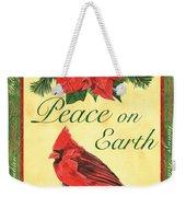 Xmas Around The World 1 Weekender Tote Bag by Debbie DeWitt