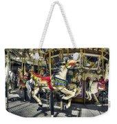 Xmas Carousel Weekender Tote Bag