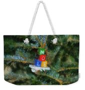 Xmas Noel Ornament Photo Art 01 Weekender Tote Bag