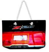 Xxl Chevrolet 2014 Z28 Tail Light Weekender Tote Bag