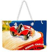 Monte Carlo Weekender Tote Bag