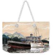 Alaskan Sunrise Weekender Tote Bag