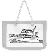 Yachting Good Times Weekender Tote Bag