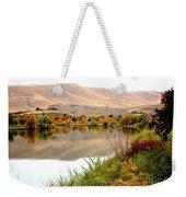 Yakima River Autumn Weekender Tote Bag