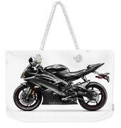 Yamaha R6 Supersport Motorcycle Weekender Tote Bag
