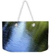 Yamhill River Abstract 24849 Weekender Tote Bag
