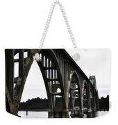 Yaquina Bay Bridge - Series D Weekender Tote Bag