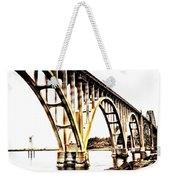 Yaquina Bay Bridge - Series G Weekender Tote Bag
