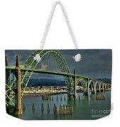 Yaquina Bay Bridge Weekender Tote Bag