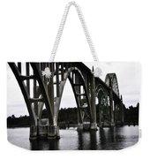 Yaquina Bay Bridge - Series J Weekender Tote Bag