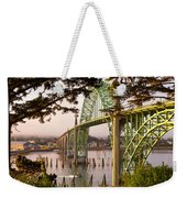 Yaquina Bay Bridge Morning Light Weekender Tote Bag