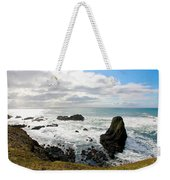 Yaquina Bay Coastline Weekender Tote Bag