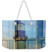 Yaquina Head Lighthouse Mirage  Weekender Tote Bag