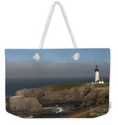 Yaquina Head Lighthouse-newport Weekender Tote Bag