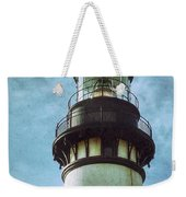 Yaquina Head Lighthouse Texture Weekender Tote Bag