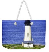 Yaquina Lighthouse From The Big Hill Weekender Tote Bag