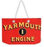 Yarmouth Engine 1 Weekender Tote Bag