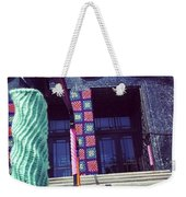Yarnamention At The Perelman Building Weekender Tote Bag by Katie Cupcakes
