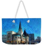 Yaroslavsky Railway Station Weekender Tote Bag