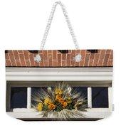 Yarrow And Lotus Arrangment Weekender Tote Bag
