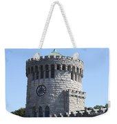 Ye Old Castle Clock Tower Weekender Tote Bag