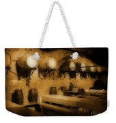 Ye Old Wine Cellar In Tuscany Weekender Tote Bag by John Malone