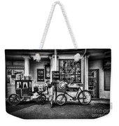 Ye Olde Sweet Shoppe Mono Weekender Tote Bag