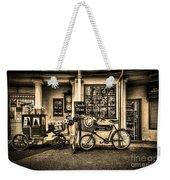 Ye Olde Sweet Shoppe Sepia Weekender Tote Bag
