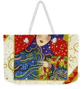 Year 1928 Vintage Greeting Card Weekender Tote Bag